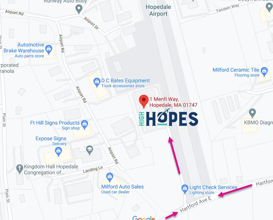 High Hopes Map